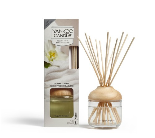 Yankee Candle Raumduft «Fluffy Towels» Reed Diffuser