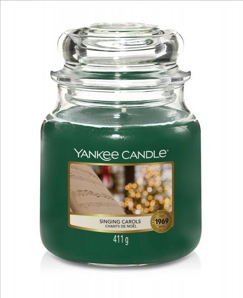Yankee Candle Duftkerze «Singing Carols» mittel