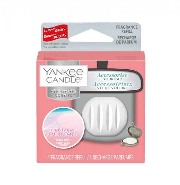 Yankee Candle Autoduft «Pink Sands» Charming Scents, Refill