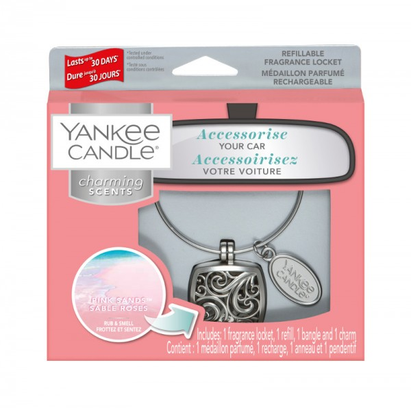 Yankee Candle Autoduft «Pink Sands Square» Charming Scents, Starter Kit