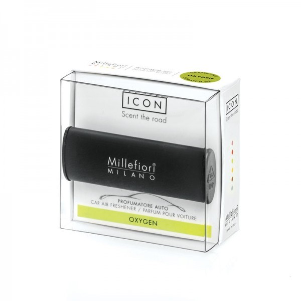 Millefiori Autoduft ICON Classic «Oxygen» Schwarz