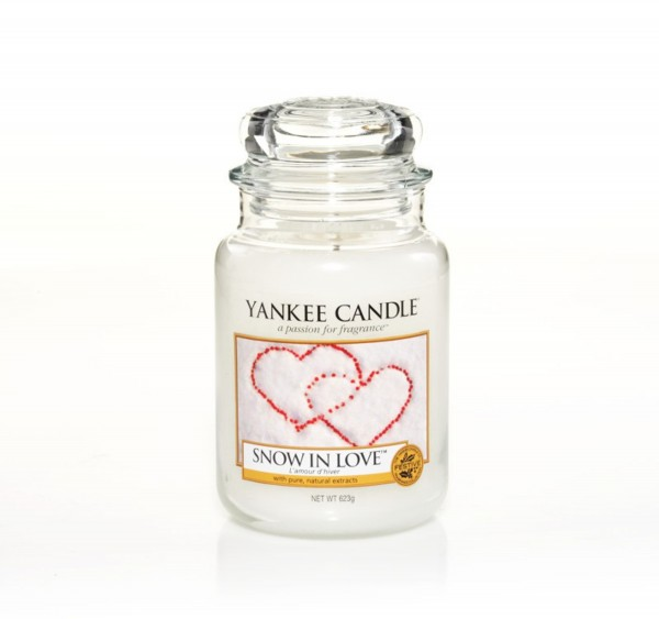 Yankee Candle Duftkerze «Snow in Love» gross (large Jar 623g)