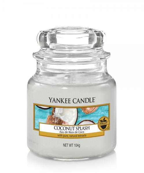 Yankee Candle «Eau de Noix de Coco» Bougie Parfumée Petite Jarre (small Jar 104g)