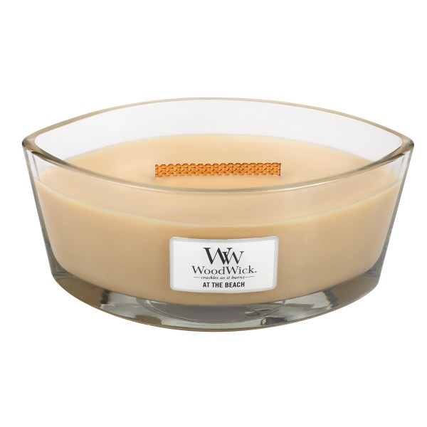 WoodWick Duftkerze «At the Beach» Ellipse